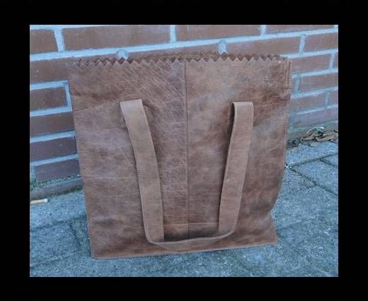 Vintage Leather Neptune Series--20512-Distressed Tan