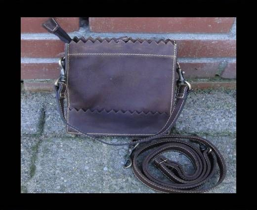 Vintage Leather Mercury Series Bag-20510-Distressed Wine