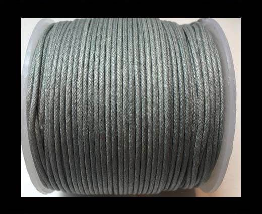 Wax Cotton Cords - 1mm - dark grey