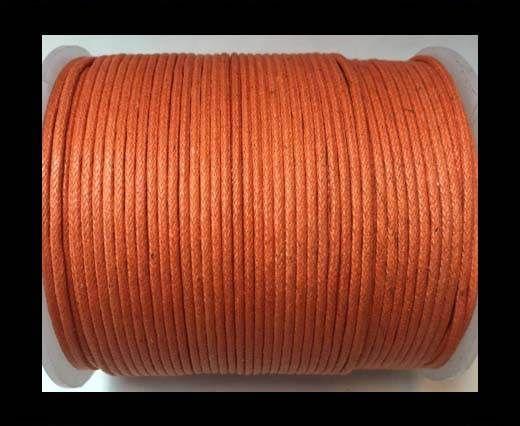 Wax Cotton Cords - 1mm - Orange
