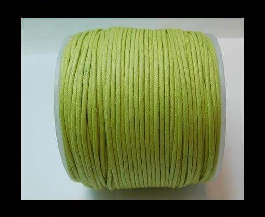 Wax Cotton Cords - 1,5mm - Apple Green