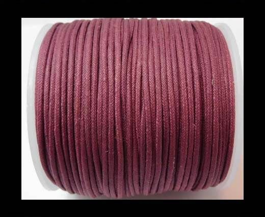 Wax Cotton Cords - 1,5mm - Burgundy