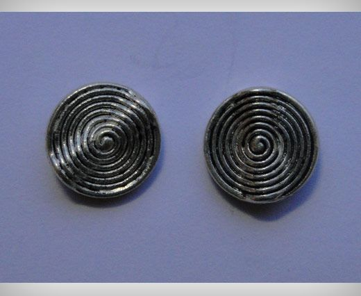 Zamak part for leather CA-3082