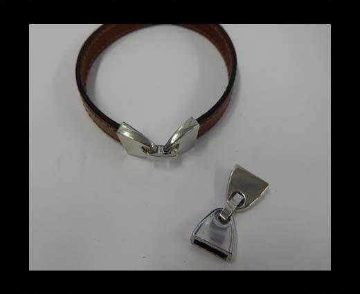 ZAML-65-10*2.5mm-Steel Silver