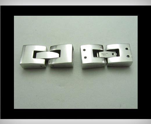 Edelstahl Magnetverschluss-MGST-14-10mm