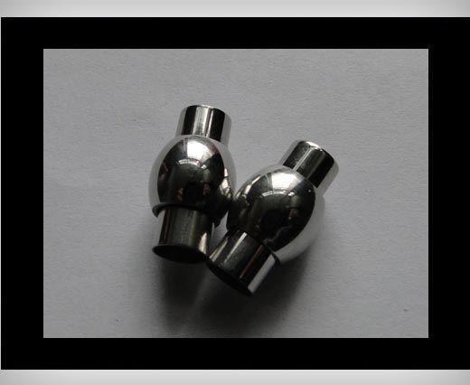 Edelstahl Magnetverschluss-MGST-01-7mm