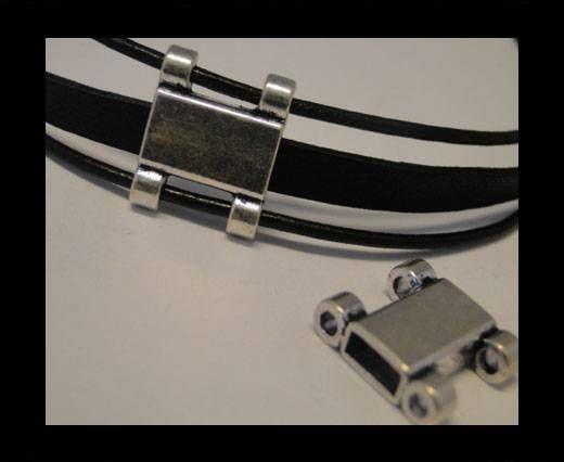 CA-3473-Zamac Teile für Leder