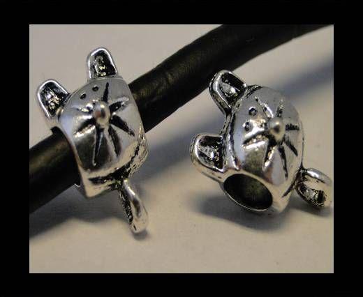 CA-3540-Zamac Teile für Leder
