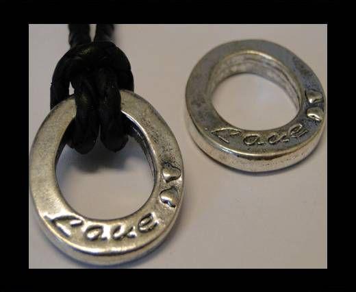 CA-3595-Zamac Teile für Leder