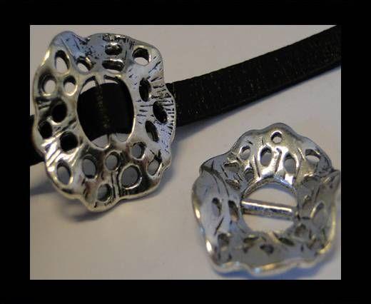 CA-3617-Zamac Teile für Leder