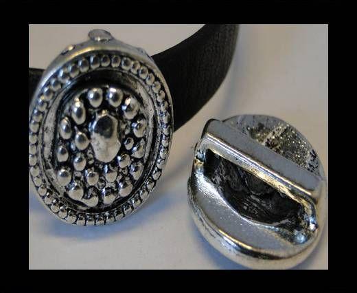 CA-3623-Zamac Teile für Leder