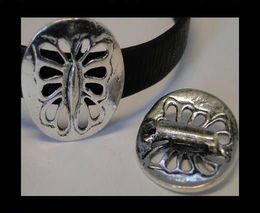 CA-3624-Zamac Teile für Leder