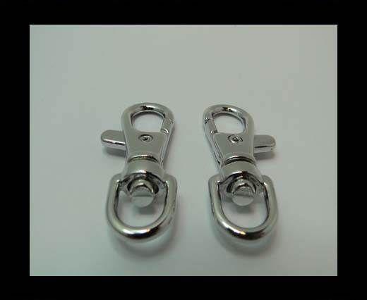 Brass fish lock FI-7092-40mm-STEEL