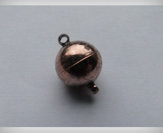 Magnetverschluss-Antik Kupfer-8mm
