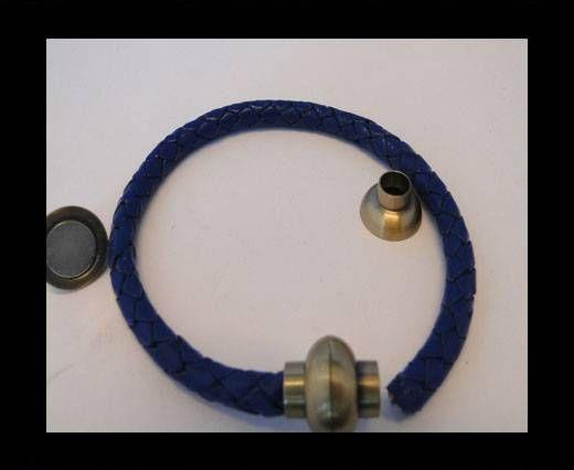 Magnetverschlüsse -MGL4-4mm-gepudertes Antik-Gold
