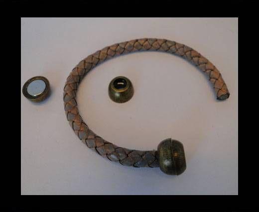 Magnetverschlüsse-MGL5-7mm-Antik Gold