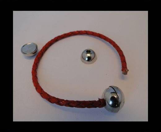 Magnetverschlüsse-MGL5-7mm-Antik Silber