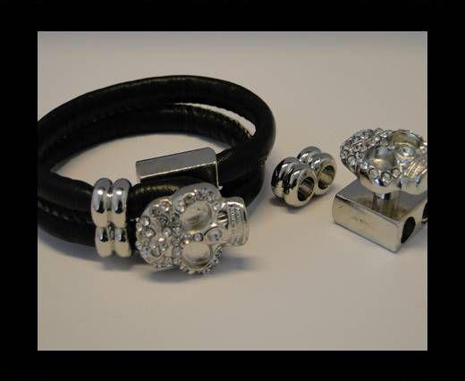 Magnetverschlüsse für Leder Kordeln-MGL-89-4mm