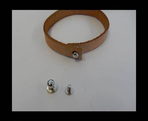 Zamak magnetic clasp MGL-380-5mm