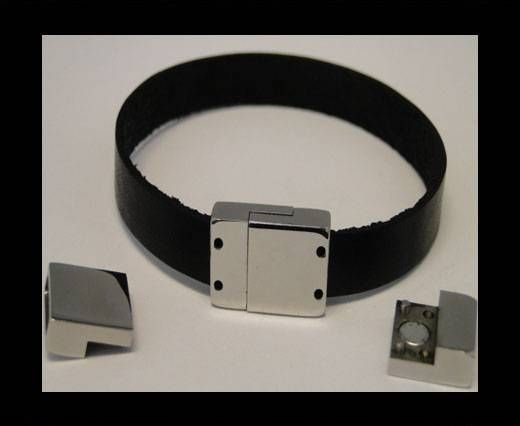 Stainless Steel Magnetic clasps - MGST-64-11mm-by-3mm