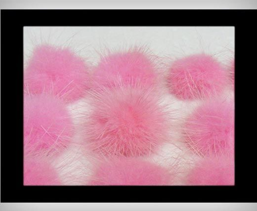 Mink Pom Pom Light Pink