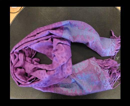 Pashmina Shawl-Style1-Purple