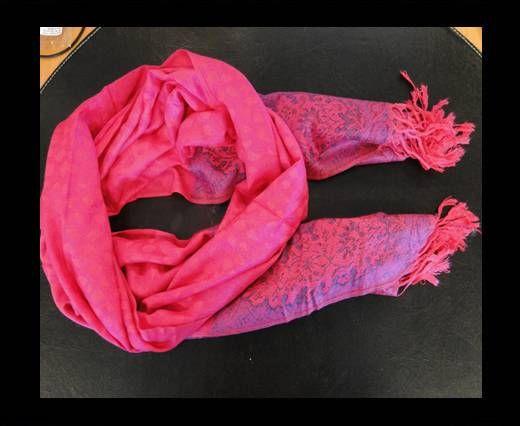 Pashmina Shawl-Style1-Pink