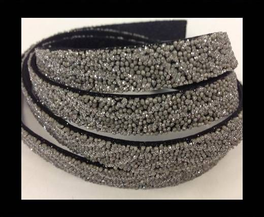 Real Nappa Leather - SE-FNG-25-Glitter Style -10mm