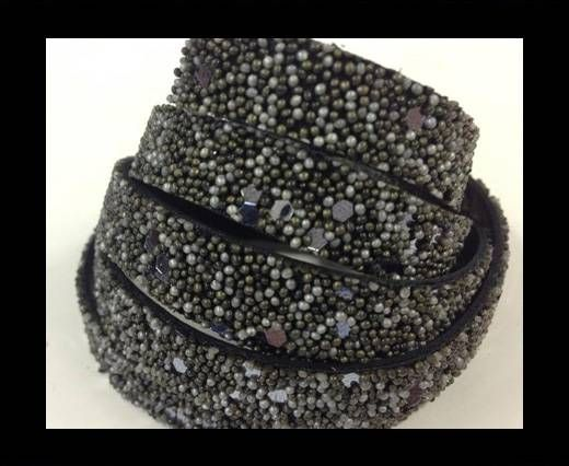 Real Nappa Leather - SE-FNG-26-Glitter Style -10mm