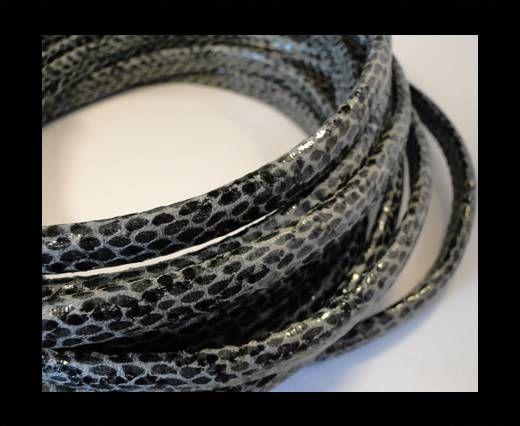 Regaliz-Leather-Snake Style-grey