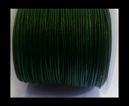 Round Leather Cord -1mm- SE Olive Green