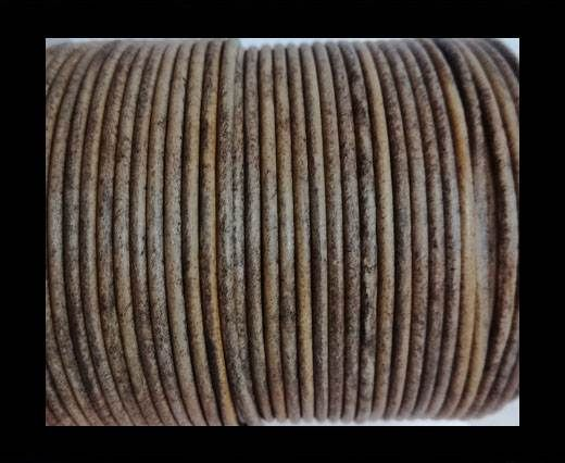 Round Leather Cord-1,5mm-vintage taupe