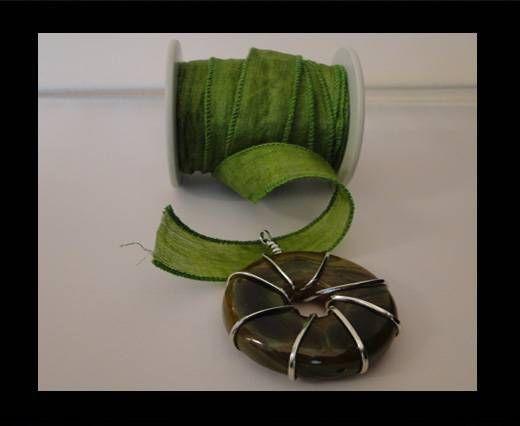 SC-Seidenband-Grün