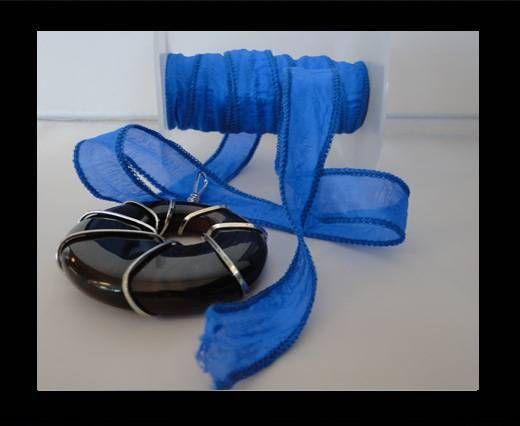 SC-Seidenband-Steel Blue
