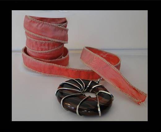 SC-Seidenband-glänzendes Rot