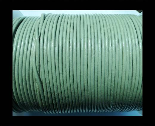 Round Leather Cord SE/R/28-Beige - 3mm