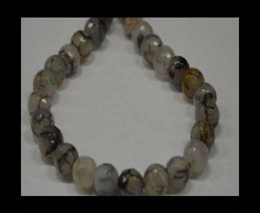 Semi Precious Stones item 5-10mm-Black Diamond