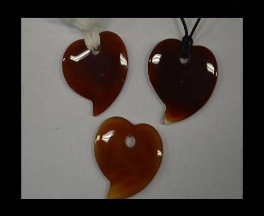Semi Precious Stones item 21-mixed brown