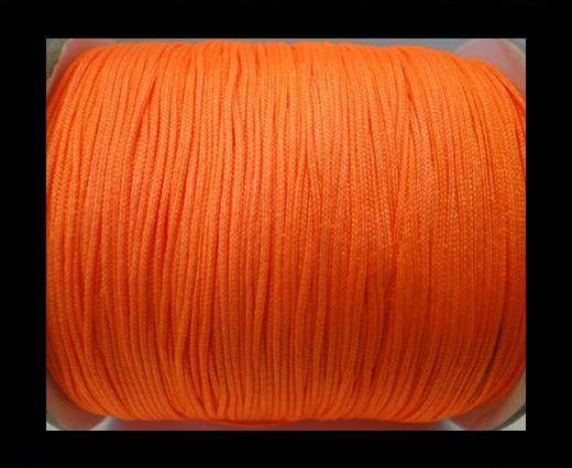 Shamballa-Kordeln-1mm-fluoreszierendes Orange