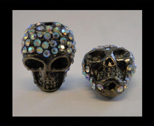 Shamballa Totenkopf-Crystal AB