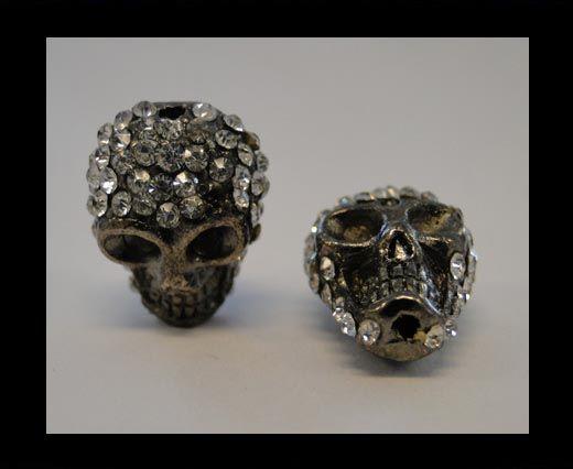 Shamballa Totenkopf-Crystal