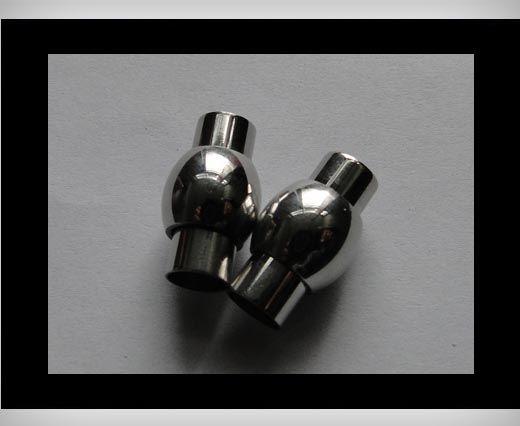 Edelstahl Magnetverschluss-MGST-01-5mm