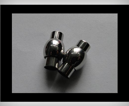 Edelstahl Magnetverschluss-MGST-01-6mm