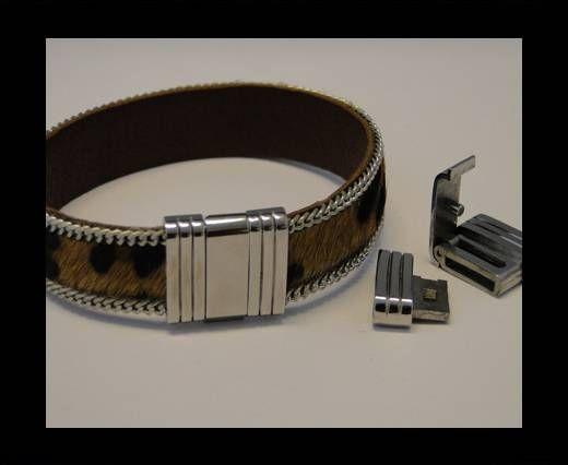 Nicht-magnetischer Edelstahl-Verschluss-MGST 65-15*3mm