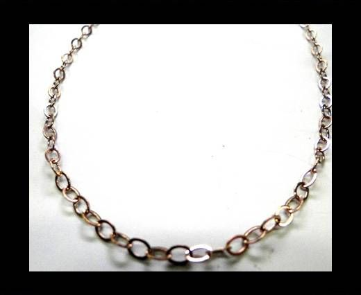 Steel Chain Item 30 Rose Gold - ready chain