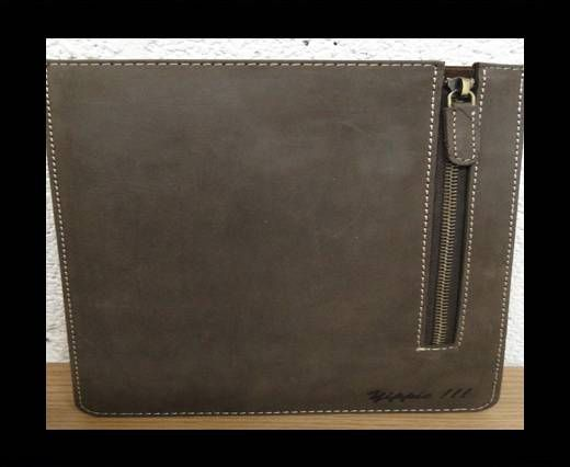 SUNS-228 -Genuine Leather I-pad Cover