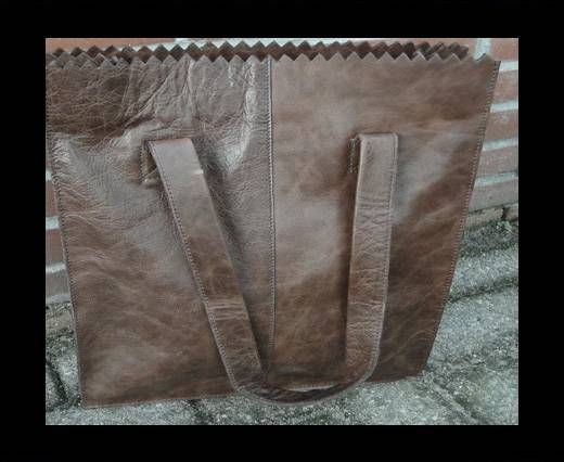 Vintage Leather Neptune Series-20515 -Distressed oily brown