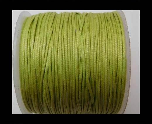 Wax Cotton Cords - 0,5mm - Apple Green