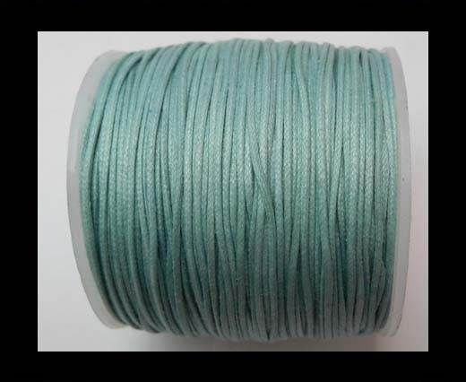 Wax Cotton Cords - 0,5mm - LT Turquoise