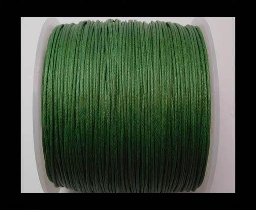 Wax Cotton Cords - 1mm - Islamic Green